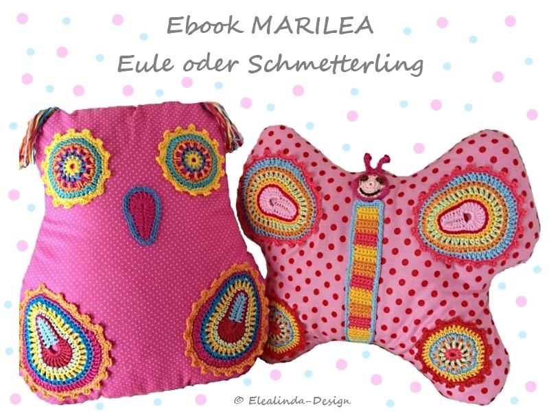 Marilea Eule Oder Schmetterling Häkel Und Nähanleitung Pdf
