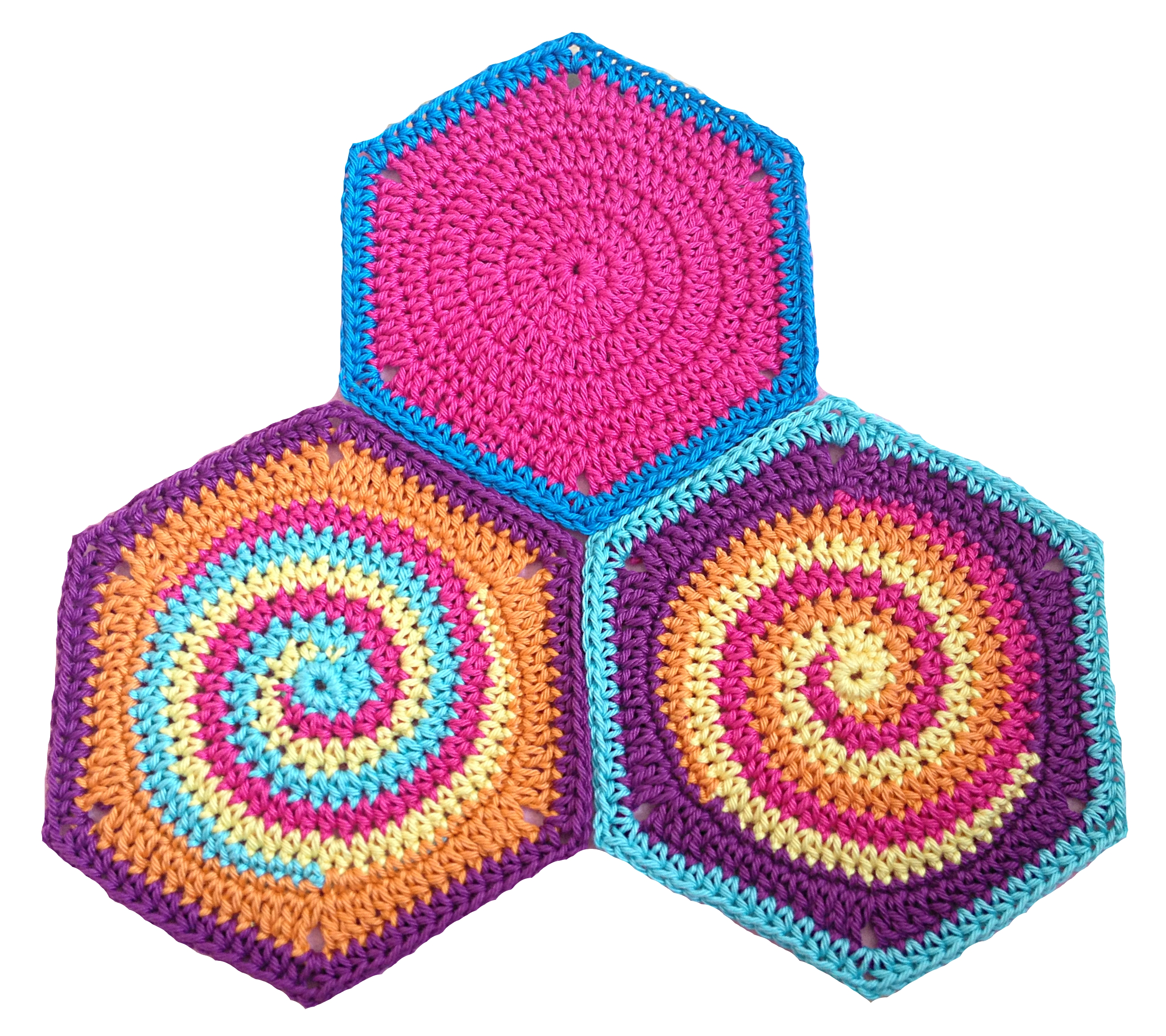 Granny Square Hexagon Twistysix Häkelanleitung Pdf
