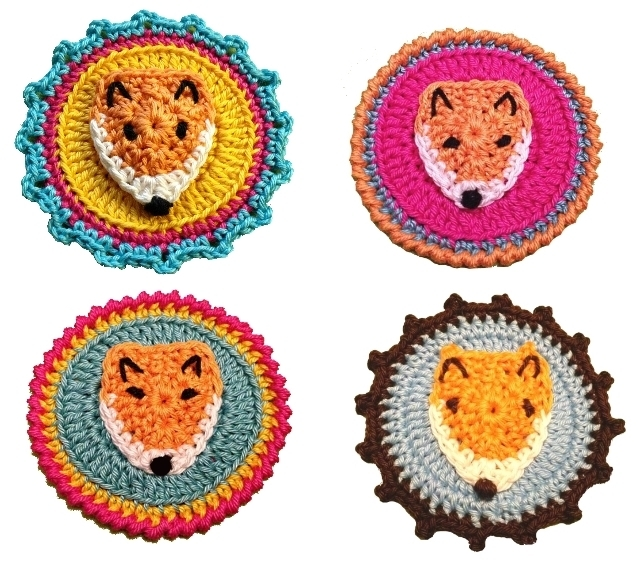 Crochet Pattern Mister Fox Photo Tutorial Pdf Instant Download