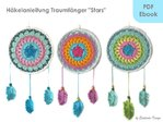 "Dream catchers ""Stars"" Crochet pattern PDF"